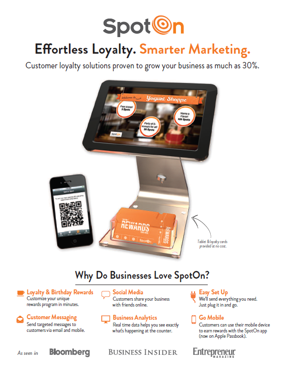 Spot On Effortless Loyalty – Rewards Programs